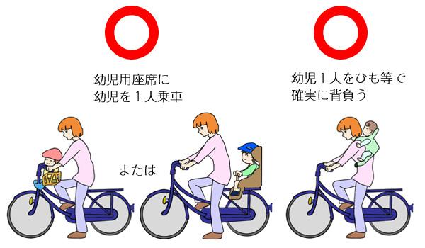 子ども乗せ自転車のルール_1