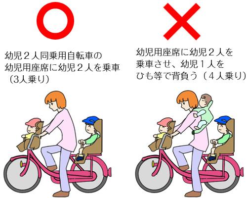 子ども乗せ自転車のルール_2